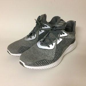 Adidas Alpha Bounce Gray Reflective 3M Running